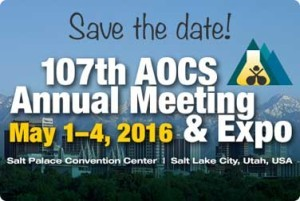 AOCS Annual Meeting & Industry Showcase