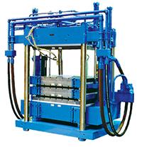 hydraulic press for automotive flooring