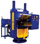 Clamshell Molding Press