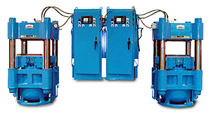 550 ton hydraulic column press
