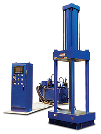 hydraulic press for compaction molding