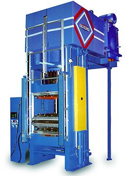 low deflection hydraulic press