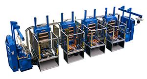 350 ton sideplate hydraulic press system
