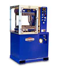 hydraulic press for sporting good applications