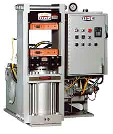 sideplate hydraulic presses for sporting good applications