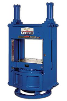 custom hydraulic press, sideplate