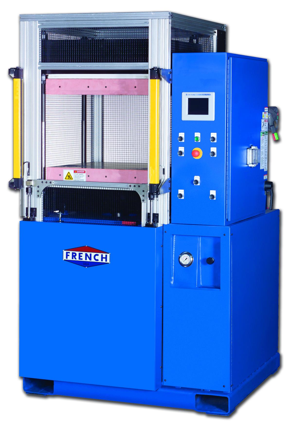 hydraulic lamination press