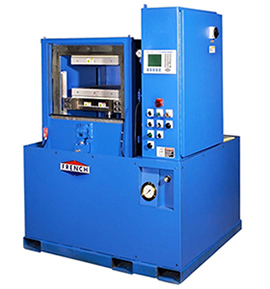 Vision vacuum hydraulic press
