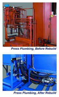 Hydraulic Press Maintenance, Parts, Rebuild & Repair Services