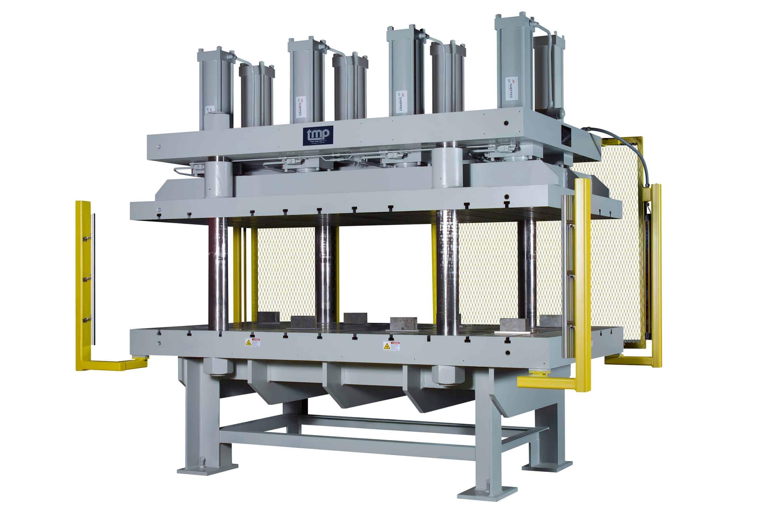Composite Molding Press for Resins, Composites & Thermoplastics