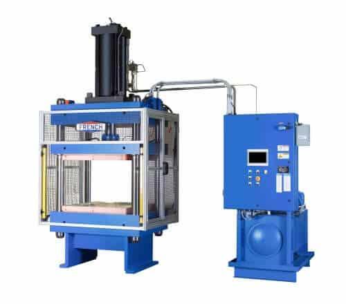 French custom hydraulic press