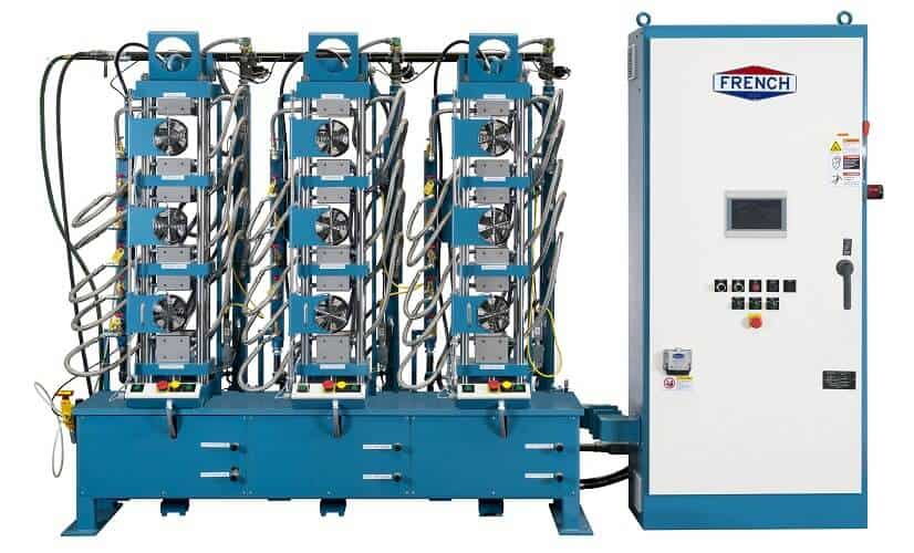 Three-Press-Hydraulic-System