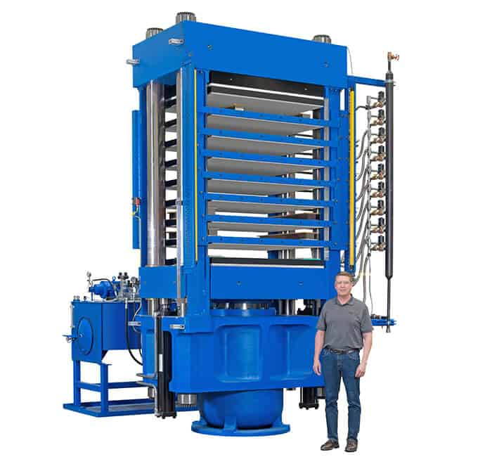 600 ton hydraulic press